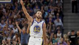 La guardia di Golden State, Stephen Curry